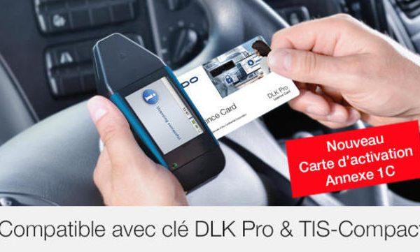Carte d'activation DLK Pro